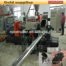 Máquina de extrusão de grânulos de plástico de madeira SHJS 65/150