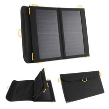 Portable High Coversion Sunpower Solar Panel Charger For Outdoor Activities