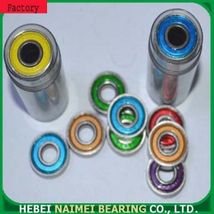 Low price 608ZZ RS skateboard ball bearing