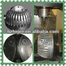 piezas de la lámpara LED de fundición a presión de aluminio
