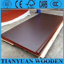 Concrete Formwork Plywood with Dark Brown, Brown, Black Color Film