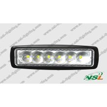 LED Driving Lighting Work Light Bar (NSL-1806-18W)