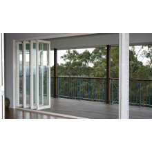 Top Processing Clear Anodized Frame Aluminum Doors