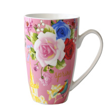 Copa de porcelana taza de café de cerámica (XLTCB-002 350)