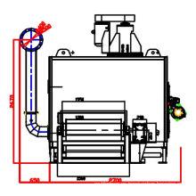 Secador de catalizador de tres vías