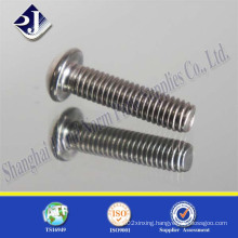 Flat Round Head Hex Socket Screws