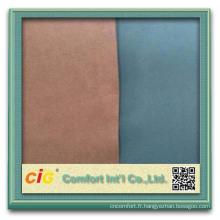 Tissu microfibre pour siège auto tissu 100 % polyester microfibre tissu pa revêtement microfibre cuir