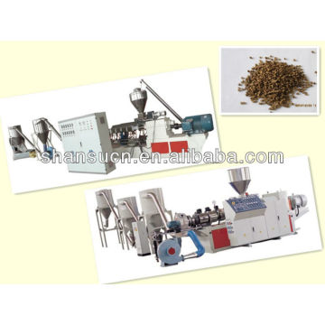 PVC granules (pellets) making machinery /plastic machine