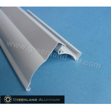 Aluminium Window Curtain Roller Blinds Head Track with Powder Coating White