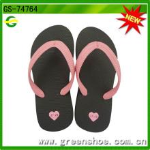 China Niños Niñas EVA Flip Flop zapatilla (GS-74674)