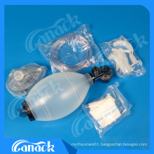 Reusable Silicone Bag Valve Mask (BVM) Ventilation