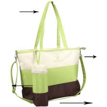 Bolso grande multi-Funtional de la mamá, bolso del pañal del bebé, bolso del pañal,