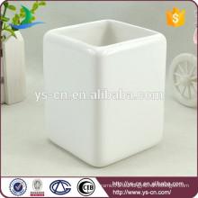 Weißes Badezimmer Zubehör Keramik Bad Tumbler für Familie