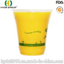 Tasse en plastique empilable jetable de pp