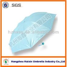 Spots Cute Fashion Preal brillant UV Protection parapluie