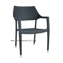 Chaise de rotin chaise/extérieur fauteuil/jardin 8001 (stakable)
