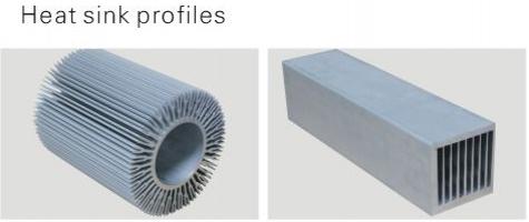 round aluminum profile