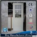 Фанда стеклянные душевые стальные двери с декоративными коваными стекло