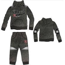 Chaqueta de alta calidad personalizada Fleece con pantalones para hombres (SQM-109)
