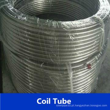 Tubo espiralado de aço inoxidável Tp316L