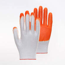 Polyester Liner Anti-aging Nitrile Coated Safety Gloves
