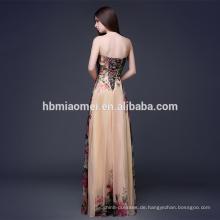sexy trägerlosen Kleid Kleid plus Größe Abendkleid
