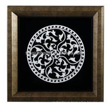 Venta al por mayor artesanales abstractos geométricos de Shell del patrón para la decoración de la pared