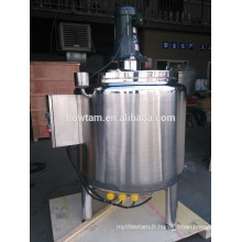 Réservoir de mélange 500L en acier inoxydable pour shampooing