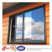 Ventana corrediza de aluminio / PVC durable de alta calidad