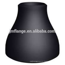 Reductor sin costura ASTM Black Oil Coated
