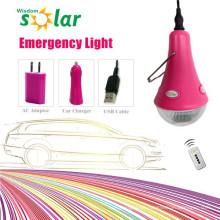 Caliente venta de iluminación de emergencia LED coche con cargador de coche
