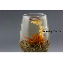 Hada de Lily + Hojas de Té Negro Té floreciente