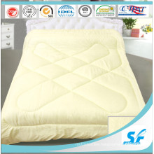 Cotton Fabric Pattern and Duck Feather Down Duvet Set Quilted Comforter
