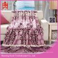 Tree design  100% polyester flannel fleece blankets