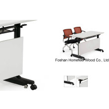 Table pliante pour étudiants en bois scolaire (HF-LS719)