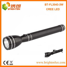 Factory Supply New Cree XPE 3W Emergency Utilisé Aluminium High Power Rechargeable led Flashlight Torch avec 2SC Nicd Battery