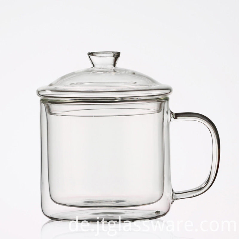 Glass Coffee Cups With Lids