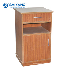 Os armários de madeira de madeira os mais modernos modernos da cabeceira SKS011-2