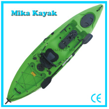 Cheap Sea Kayak Wholesale Fishing Boat Single Canoe with Rudder