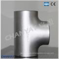 T de aço inoxidável do encaixe En / DIN 1.4462, X2crnimon22-5-3
