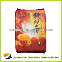 Custom design high barrier green coffee and tea bag