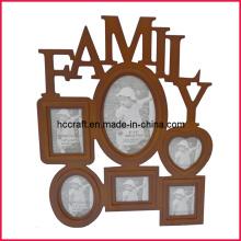 Cadre de photo familiale de Noël pour cadeaux