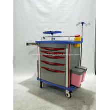 ABS Hospital Medical Emergency Trolley For Sales
