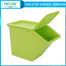 Зеленый Свежий Теплый Пластиковый Ящик Для Хранения