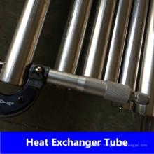Tube d'échangeur de chaleur en acier inoxydable 304 / 304L 316 / 316L