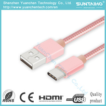 25cm/1m USB Type C Cable Fast Charging Sync Charger Cable