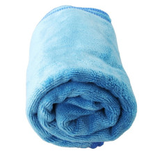 Thick Warp Knitting Microfiber Car Cleaning Towels