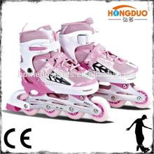 2015 zapatos de patinaje en línea patines de rodillos ajustables de la venta caliente