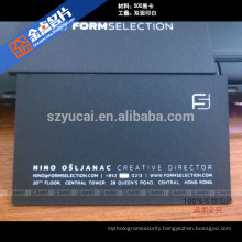 Eco-frinedly offset printing luxury international business cards