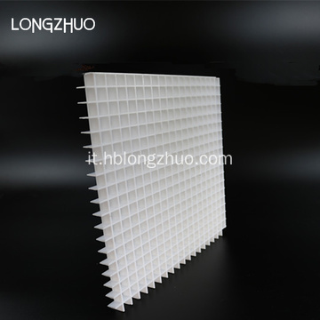 Light Ceiling Eggcrate Grille Griglia in plastica per uova
